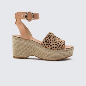 Dolce Vita LESLY WEDGES IN LEOPARD Calf Hair